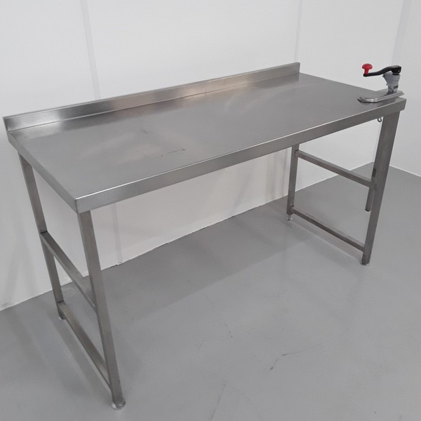 1500mm Second Hand Stainless Steel Table