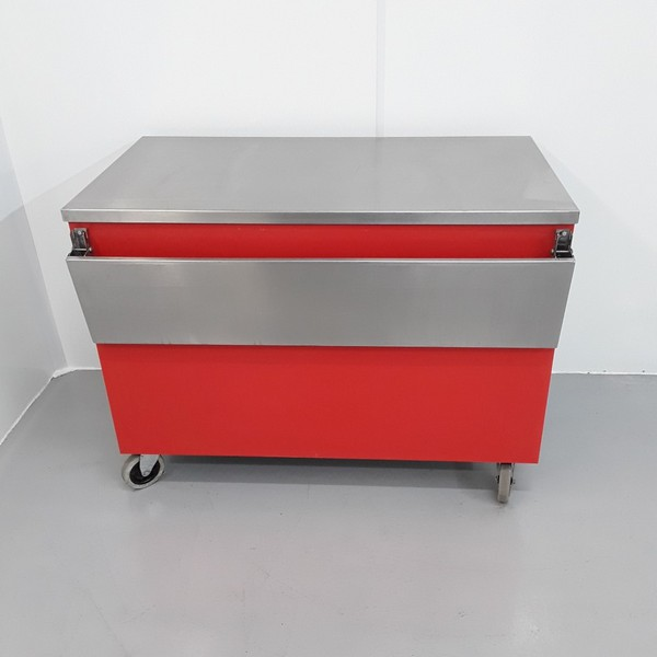 Used Stainless Steel Table Cabinet