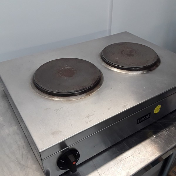 secondhand Lincat LBR2 2 Burner Hob