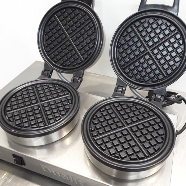 Dualit J449 Double Waffle Maker for sale