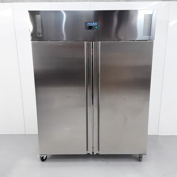 New B Grade Polar U635 Stainless Single Upright Freezer (10825) - Bridgwater, Somerset