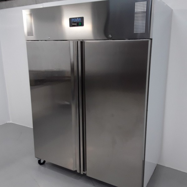 B Grade Polar U635 Stainless Single Upright Freezer (10825) - Bridgwater, Somerset