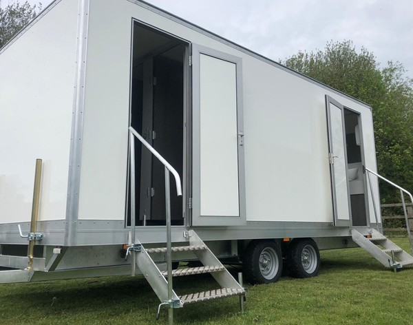 Toilet Trailers 1+1  for sale