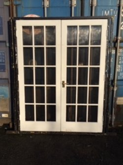 10x Double French Marquee Doors