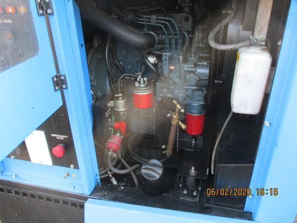 Kubota 3 cyl. Diesel engine