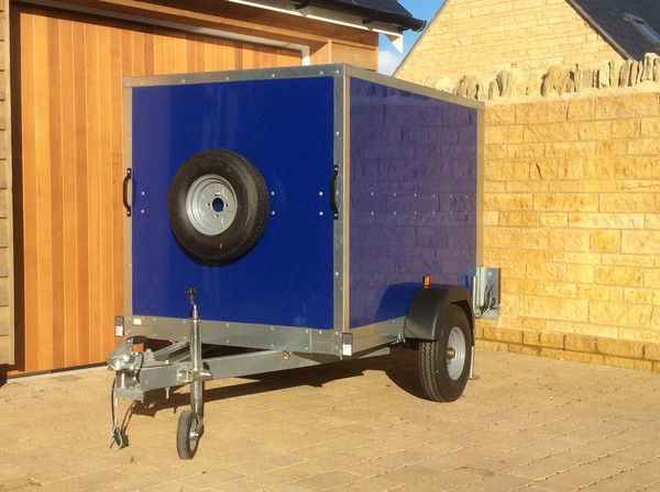 Ticklers Eco Box Trailer 6Ft x 4Ft
