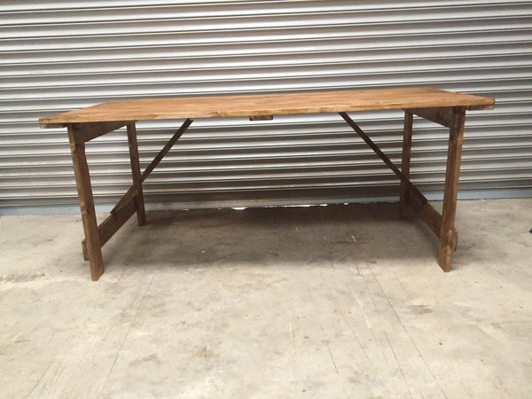 Brand New Trestle Tables For Sale