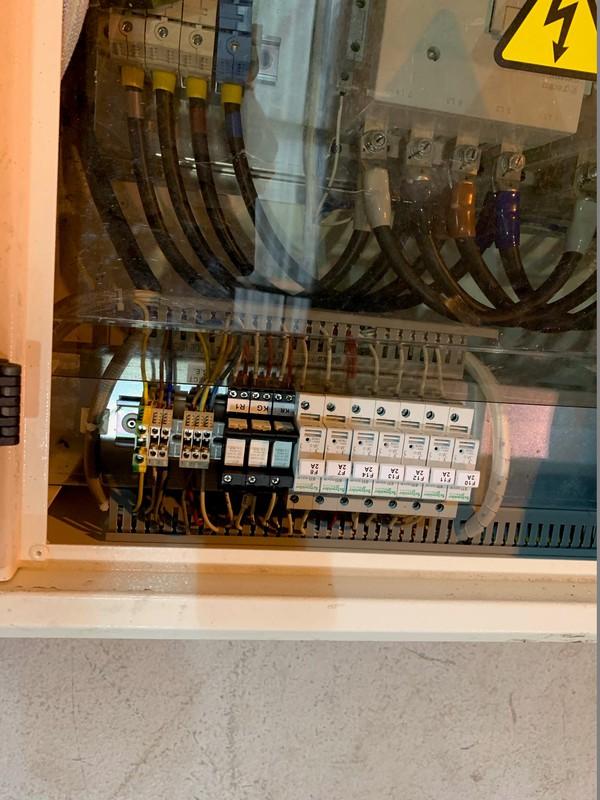 used Bruno AMF Panel 160 Amp