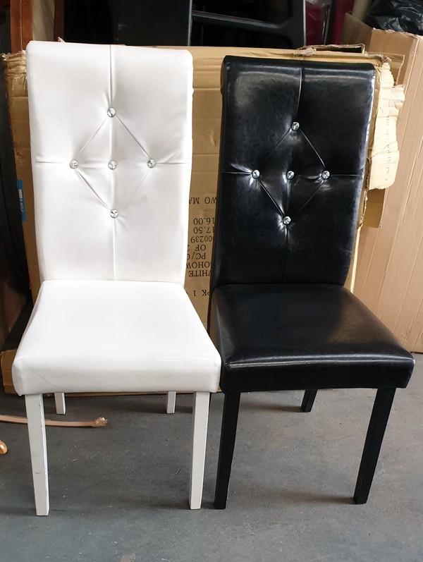 Diamond Back Upholstered Chairs