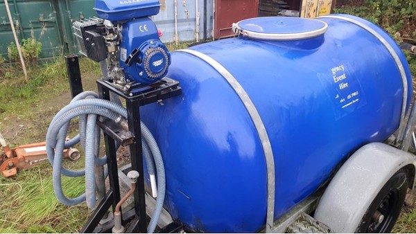 Used Water Bowser and Petrol Water Pump