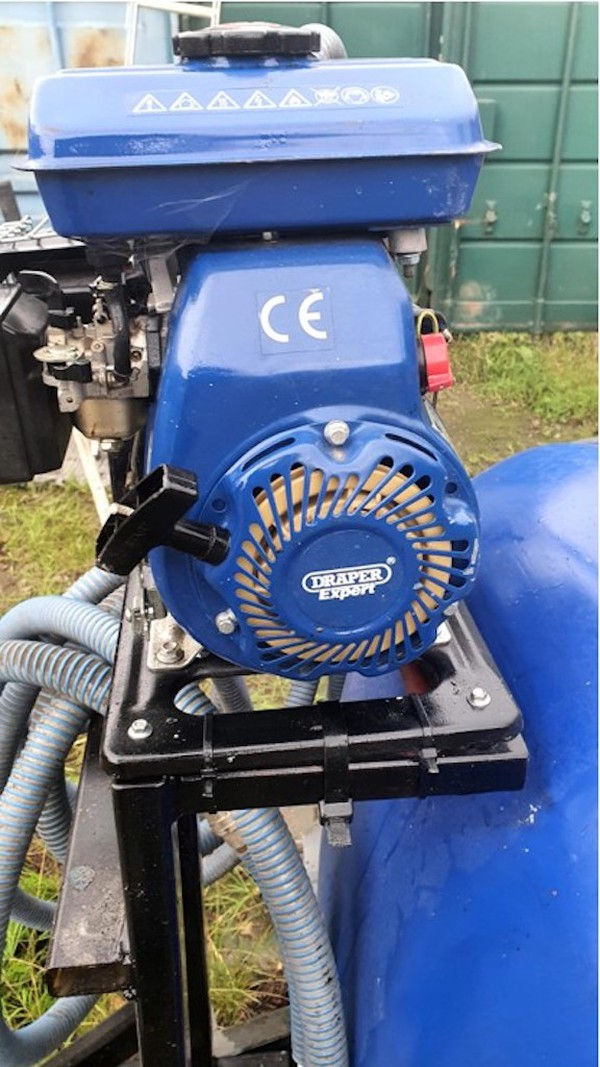 Used Water Bowser and Pump