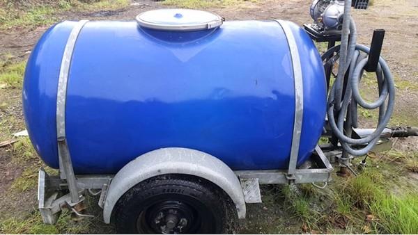 Water Bowser and Petrol Water Pump
