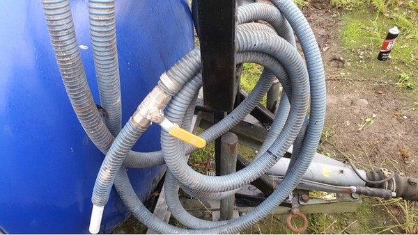 Water Bowser and Pump for sale