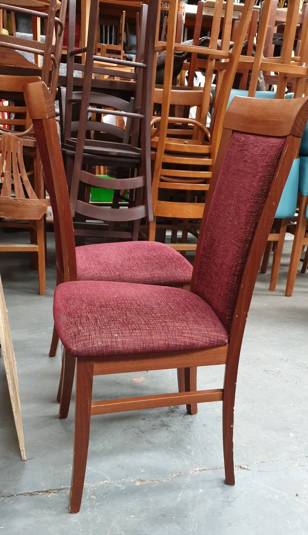 High Back Upholstered Chairs for sale