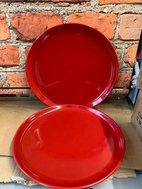 New Porcelite Red Plates for sale