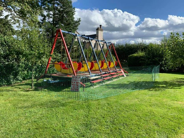 Swing Boat attraction for sale