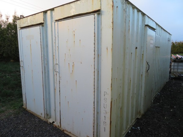 Anti Vandal Site Office Canteen 21' x 9' - Co Durham