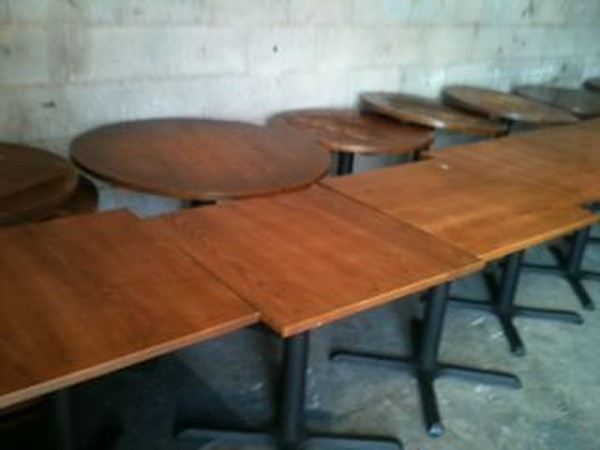 Mainly Wooden But Some Chrome Furniture For Sale