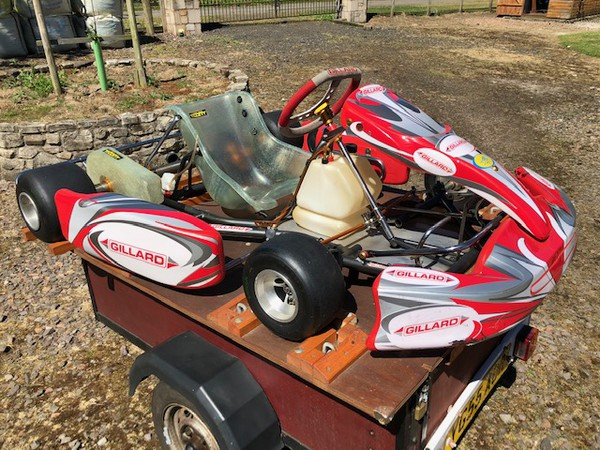 secondhand Gillard Rolling Chassis