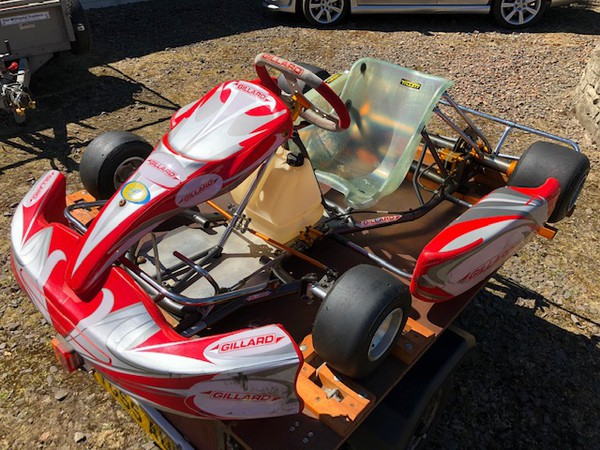 Rolling Chassis Kart