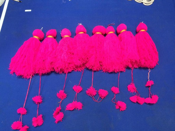 Giant Fabric Tassels for sale