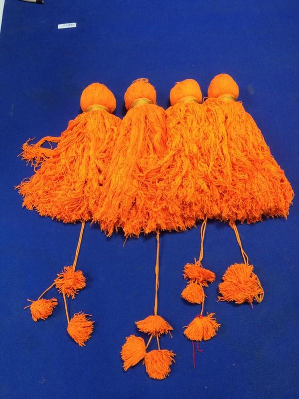 used Giant Fabric Handmade Tassels