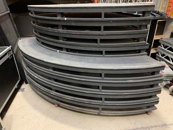 3.6m Diameter Circular Stage