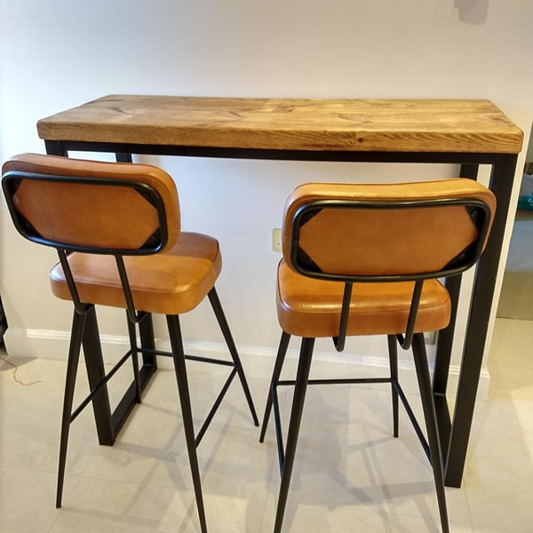 Industrial Style Breakfast Counter