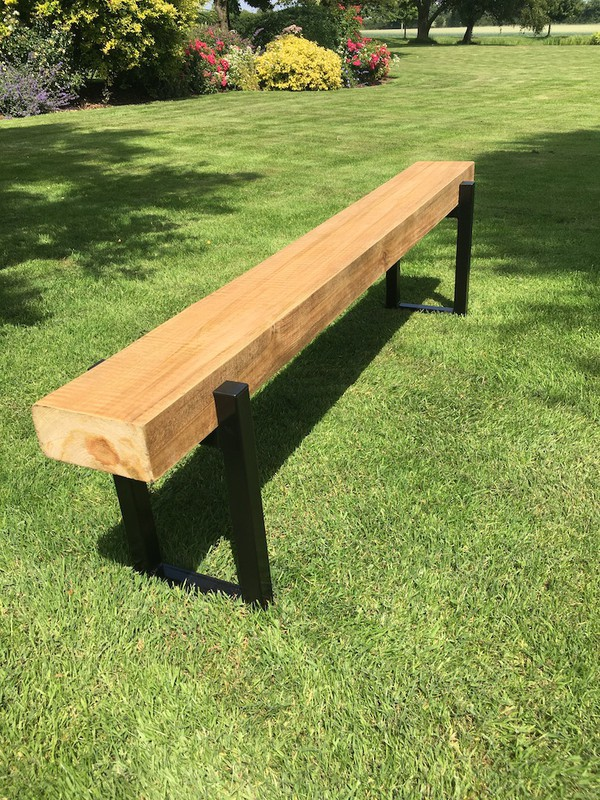 Heavy Duty Industrial Style Outdoor Sleeper Tables