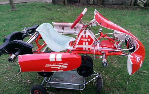 Ralf Schumacher Kart Rolling Chassis 2018