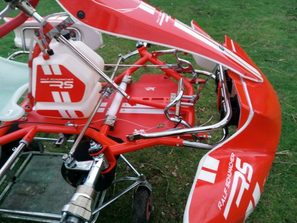 Secondhand rolling chassis