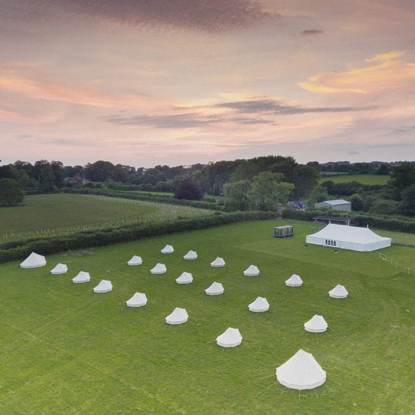 Bell Tent Hire Glamping Business - Devon Somerset