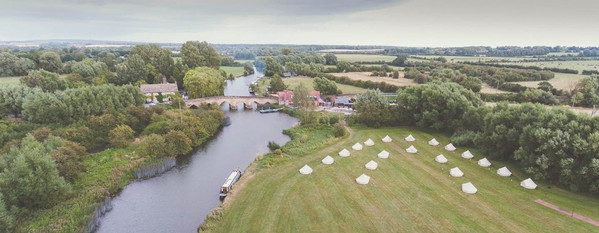 Bell Tent Hire business