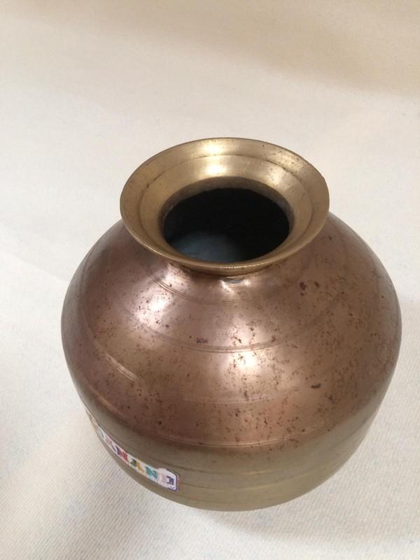 Indian Brass Pots