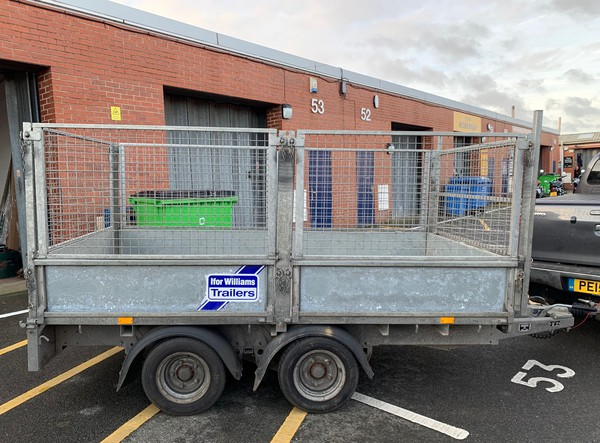 Ifor Williams LM105 caged trailer for sale