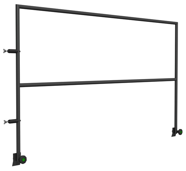 Steel Safety Railing For Stage Decks