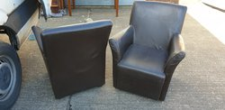 Ex Miller and Carter steakhouse armchairs