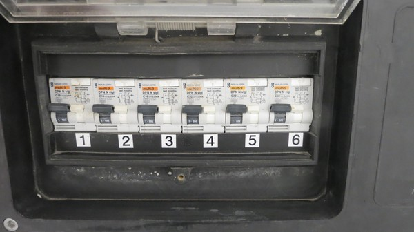used Power Distribution Board