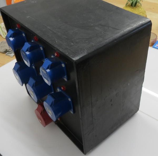 K.E.S 63A 415v Event Power Distribution Board