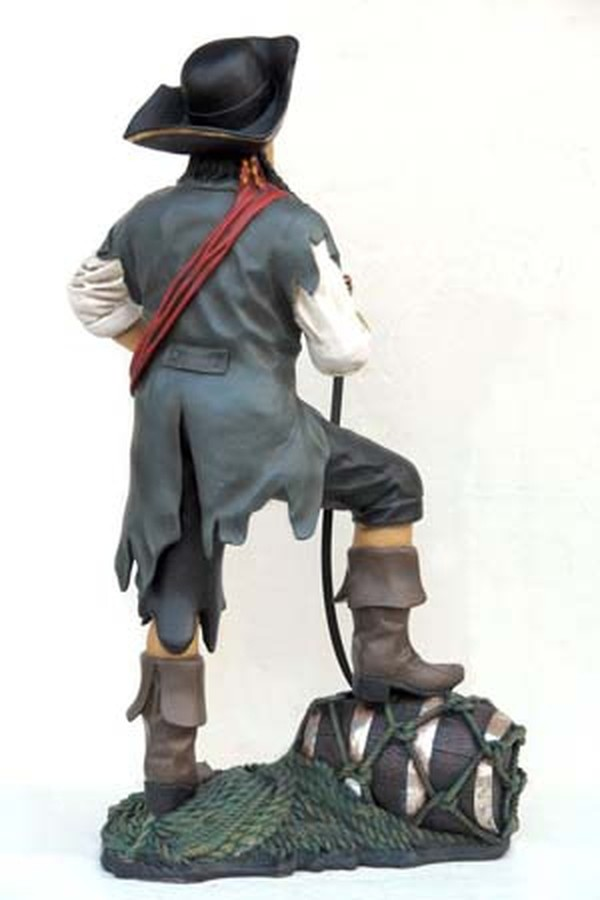 Life sized pirate
