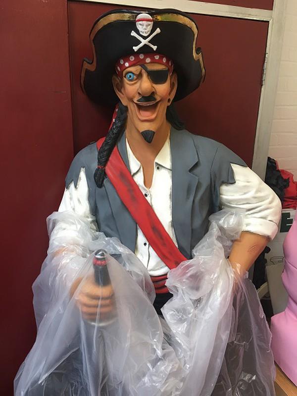 Pirate statue for sale