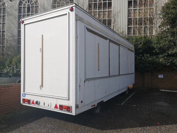 Exhibition used trailer for sale