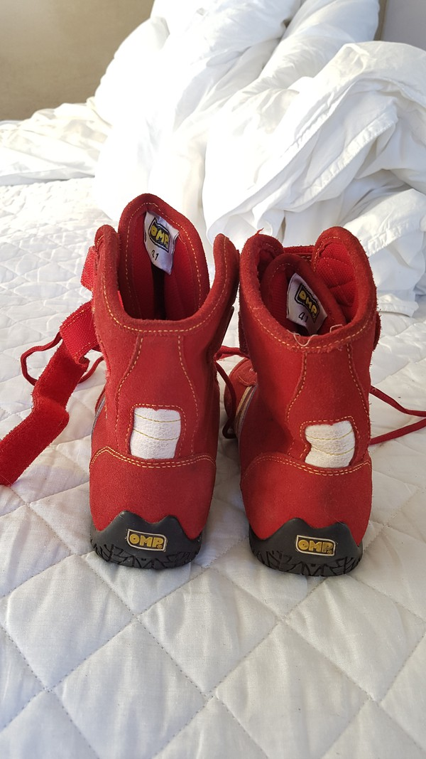 Second Hand Karting Boots For Sale
