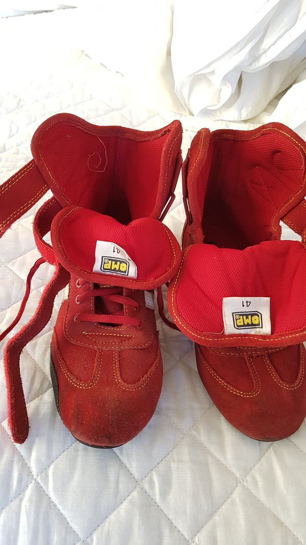 Used Karting Boots For Sale