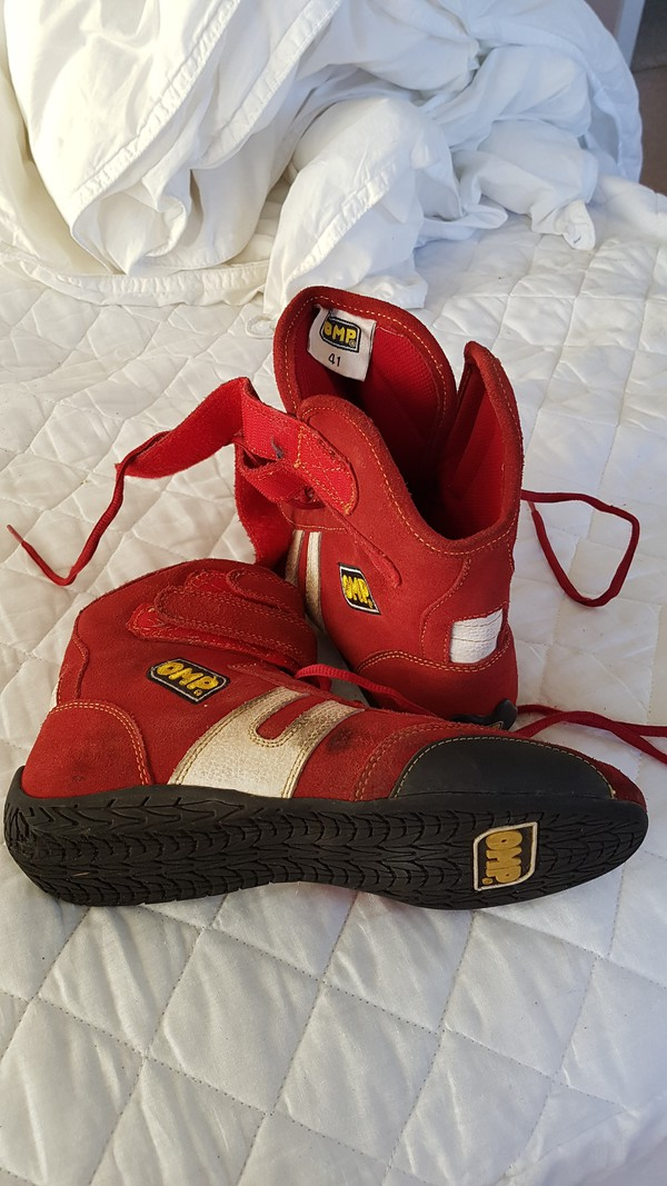 Karting Red Boots Size 41