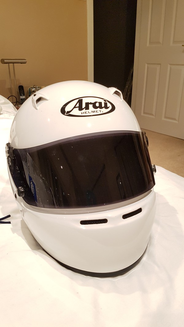Arai SK 5 Formula 4 Full Face Karting Helmet BS Approved - Scotland