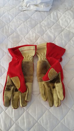 Red Karting Gloves For Sale