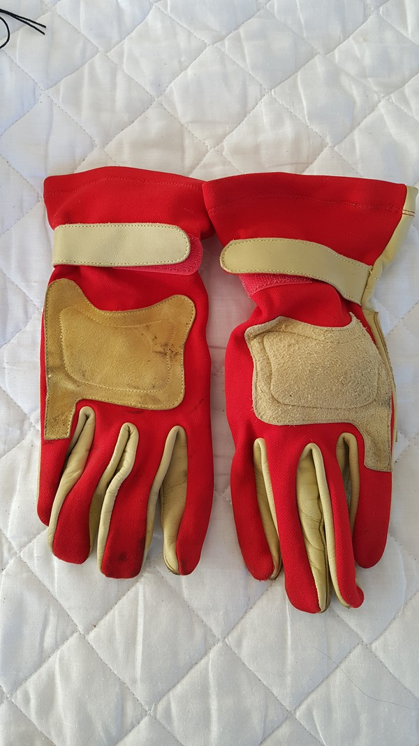 Medium Size Protective Karting Gloves