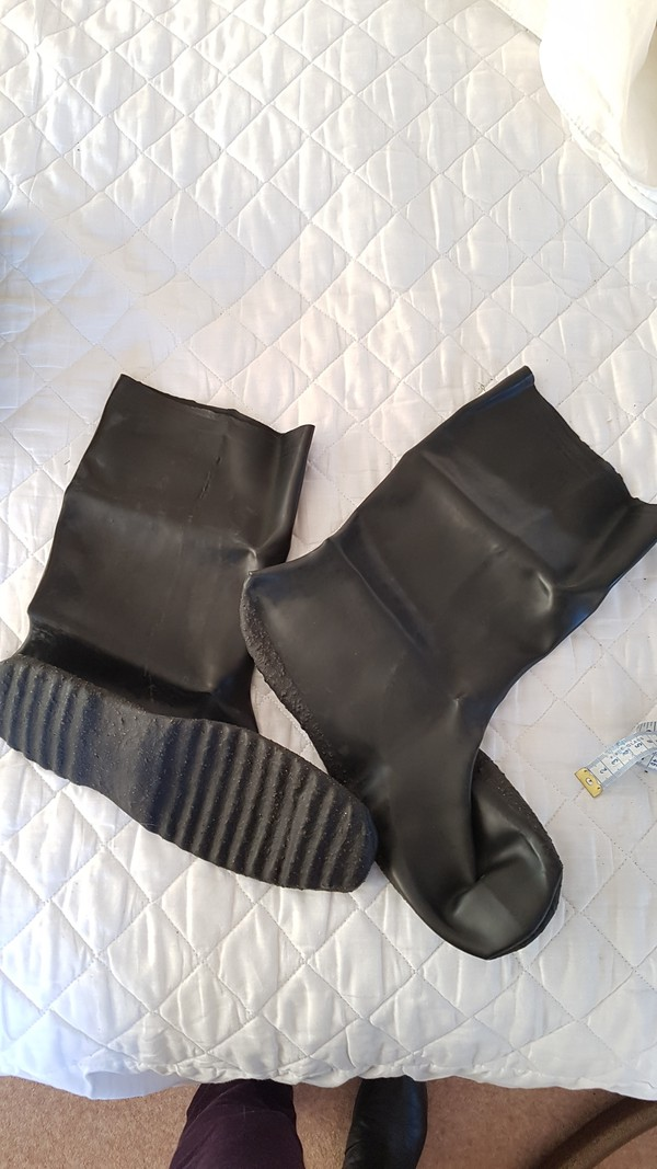 Sparco Karting Rubber Over Boot Medium Size