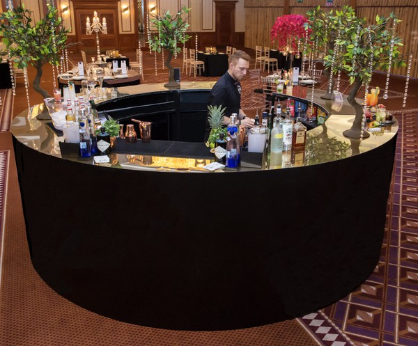 Second Hand Round Mobile Bars